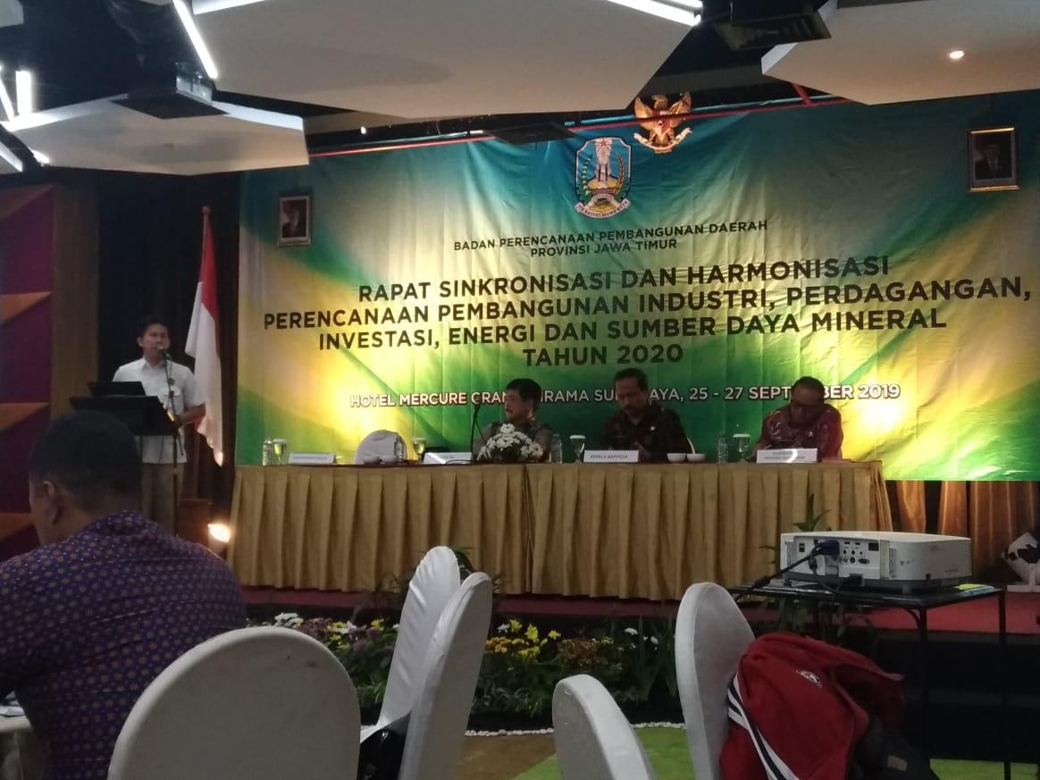 Rapat Sinkronisasi dan Harmonisasi Perencanaan Pembangunan Industri, Perdagangan, Investasi, Energi