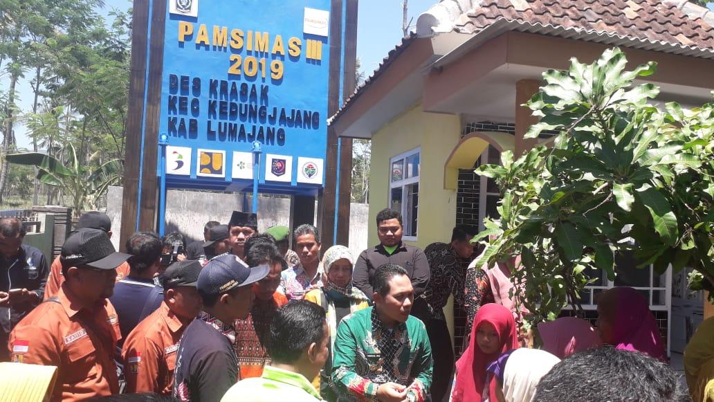 Peresmian Program PAMSIMAS III di Desa Krasak Kecamatan Kedungjajang