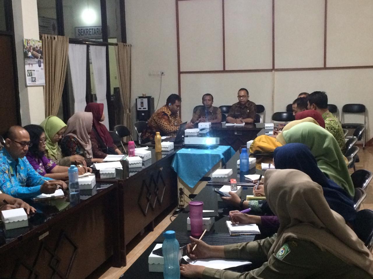 Rapat Koordinasi Penanggulangan Kemiskinan di Kabupaten Lumajang